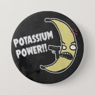 Potassium Power 7.5 Cm Round Badge