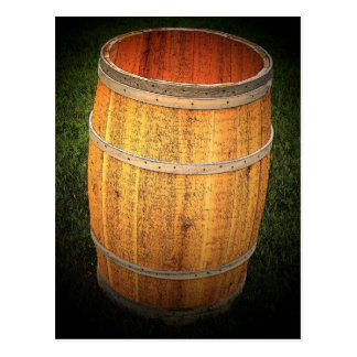 Potato Barrel Postcard