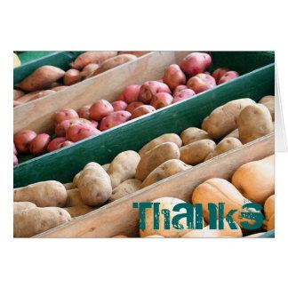 Potato Buds card