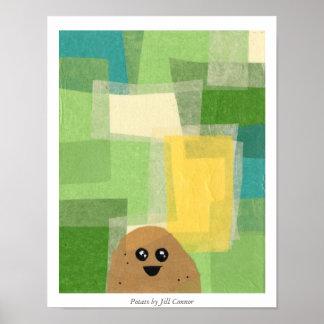 Potato by Jill Connor Poster