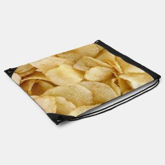 Potato Chip drawstring bag