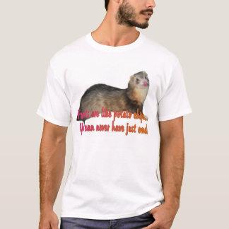 Potato Chip Ferret T-Shirt