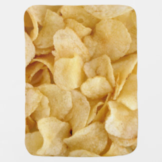 Potato chips baby blanket