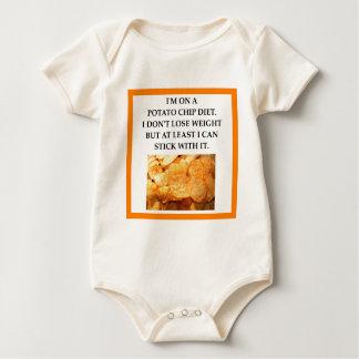 POTATO CHIPS BABY BODYSUIT