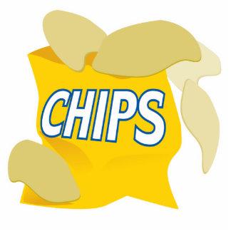 potato chips cut out