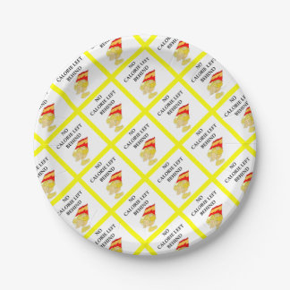 potato chips paper plate