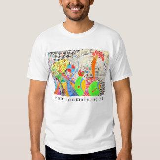 Potato, cock and beetle [53] t shirts