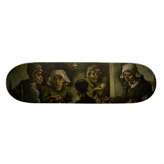 Potato Eaters by Vincent Van Gogh Custom Skate Board