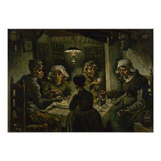 Potato Eaters by Vincent Van Gogh Photo Print