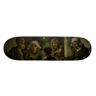 Potato Eaters by Vincent Van Gogh Skate Deck
