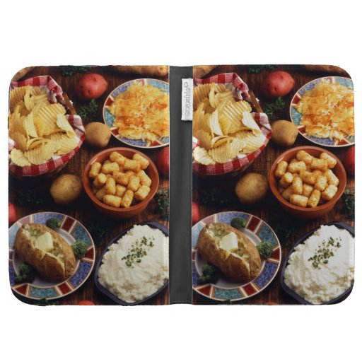 Potato Foods Kindle Folio Case