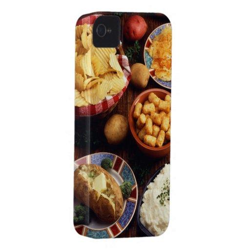 Potato Foods iPhone 4 Case-Mate Cases