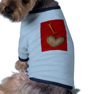 Potato Love Dog T Shirt
