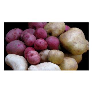Potato Market Pack Of Standard Business Cards