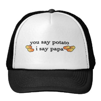Potato Papa Trucker Hats