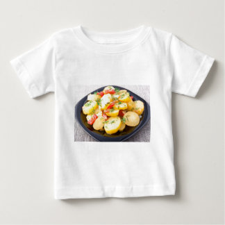 Potatoes with onion, bell pepper and fennel baby T-Shirt