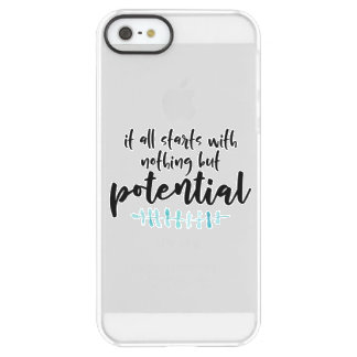 Potential Quote Permafrost® iPhone SE/5/5s Case