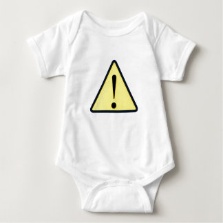 Potentially blown out baby bodysuit