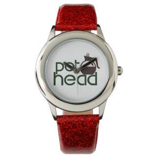 Pothead Wrist Watch