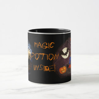 potion instead coffee or tea halloween mug