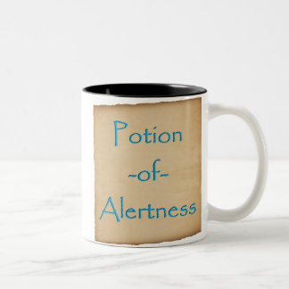 Potion of Alertness Mug (Papyrus, Parchment)
