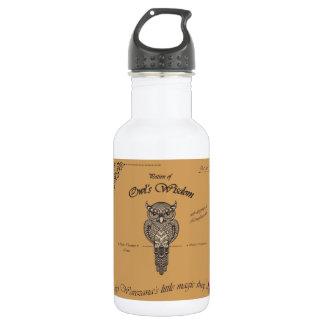 Potion of Owl's Wisdom 532 Ml Water Bottle