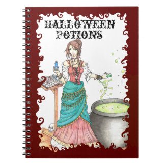 Potions Mistress - Recipe/Notebook Spiral Note Book