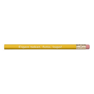 Potlood uni Geel Pencil