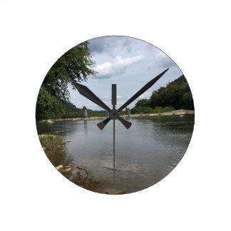 Potomac River through Harpers Ferry, WVA Round Clock