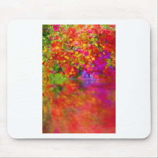 Potpourri Reflection flowers with reflections Mouse Mats