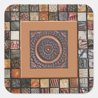 Potpourri Tiles Square Sticker