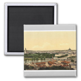 Potsdam, general view, Berlin, Germany rare Photoc Square Magnet