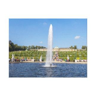Potsdam Sanssouci Palace Gardens canvas print