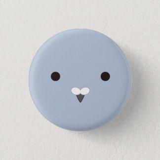 potsupo (ash) - Coo! (Gray) 3 Cm Round Badge