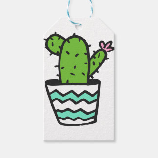 Potted Cactus Fifteen Gift Tags