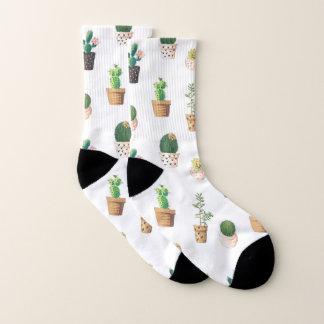 Potted Cactus Plants Socks