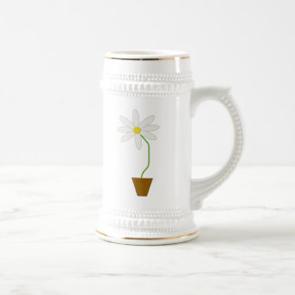 Potted Plant Beer Steins