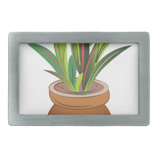 Potted Plant Belt Buckles