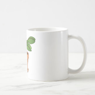 Potted Plant Cartoon Mugs