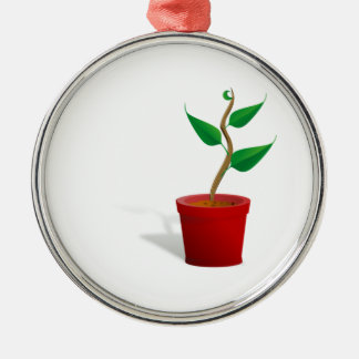 Potted Plant Christmas Ornament