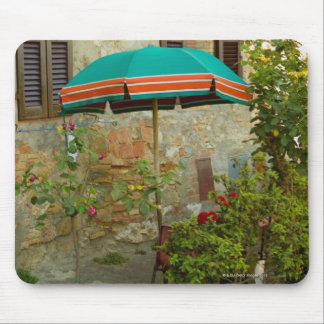 Potted plants in lawn, San Gimignano, Siena Mouse Pad