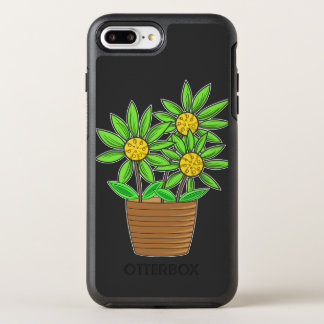Potted Sunflowers OtterBox Symmetry iPhone 8 Plus/7 Plus Case