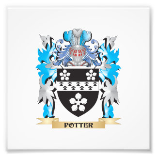 Potter Coat of Arms - Family Crest Photo Print