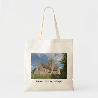 Potterne the Church of St Mary the Virgin Canvas Bags