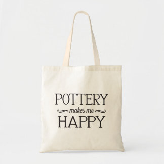 Pottery Happy Bag - Assorted Styles & Colors