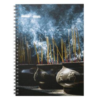 Pottery Incense Notebooks