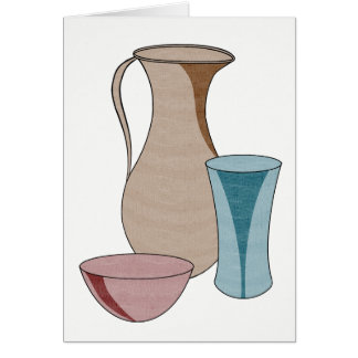 Pottery Messages from the Potter Card