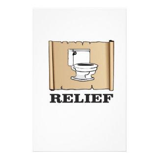 potty relief fun stationery