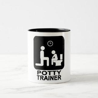 Potty Trainer Mug - White