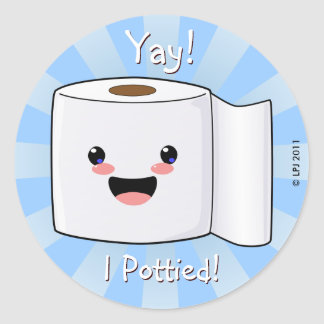 Potty Training Reward Petey TP Stickers